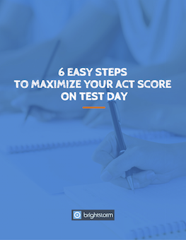 6 easy steps to maximize your ACT score on test day