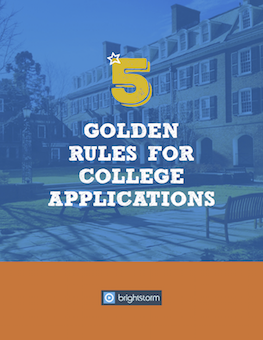 5 Golden rules for college application