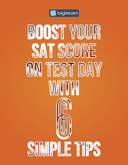 Boost your SAT score on Test day with 6 simple tips