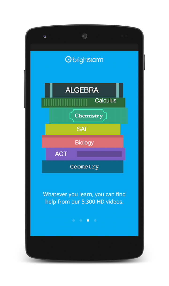 Learn anywhere, anytime with mobile app - Brightstorm
