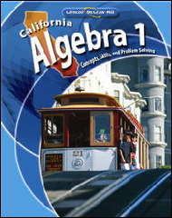 Glencoe McGraw-Hill Algebra 1 California 2008