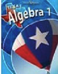 Glencoe McGraw-Hill Texas Algebra 1 2007