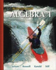 McDougal Littell Algebra 1 2007